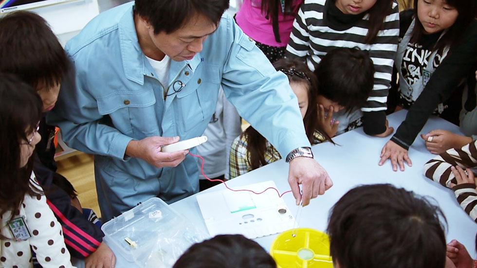 モノ作り体験教室~日清工業編~@上小阪小学校