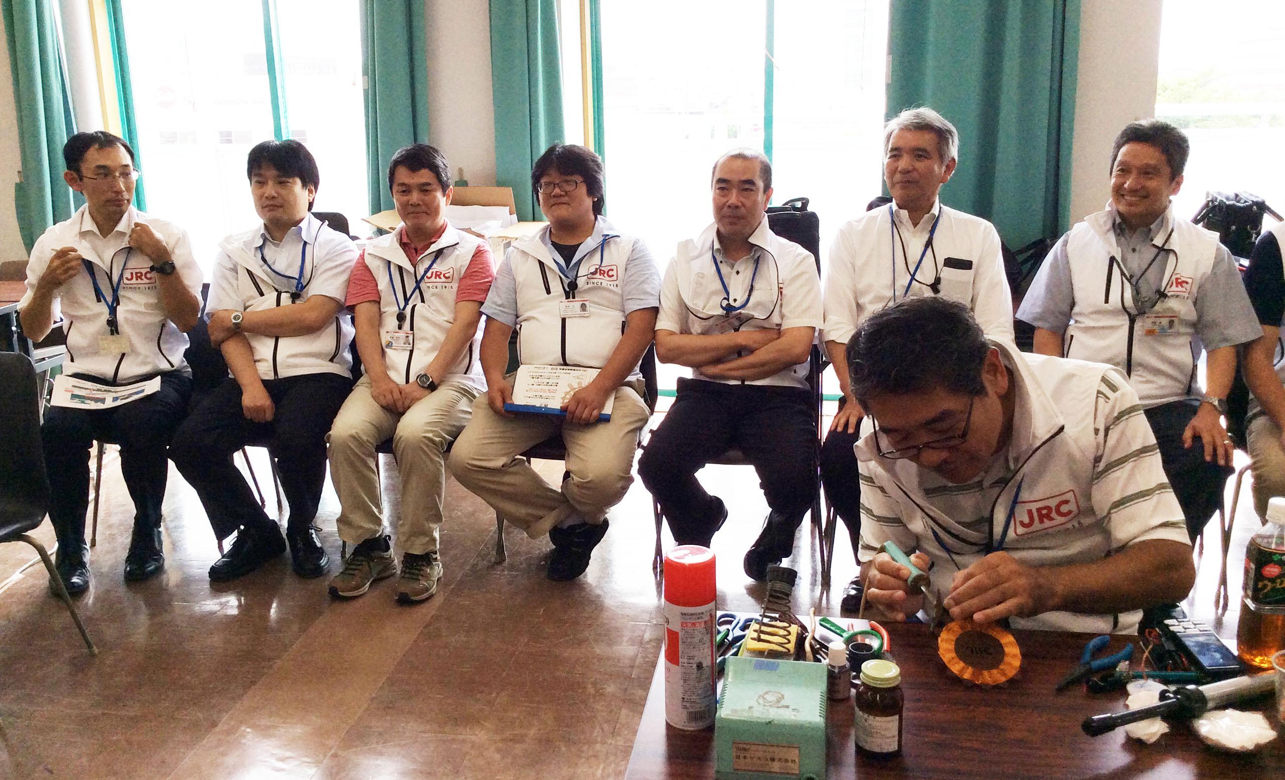 8/29(土)AMラジオ工作体験教室@東大阪市産業支援センター