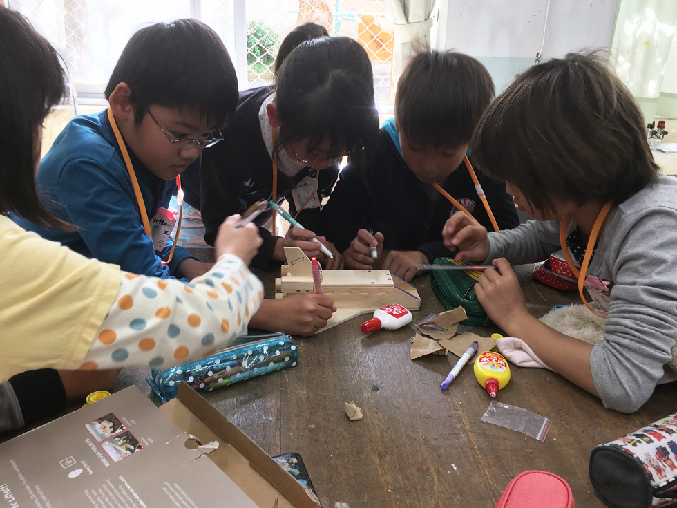 工具と木工工作体験教室