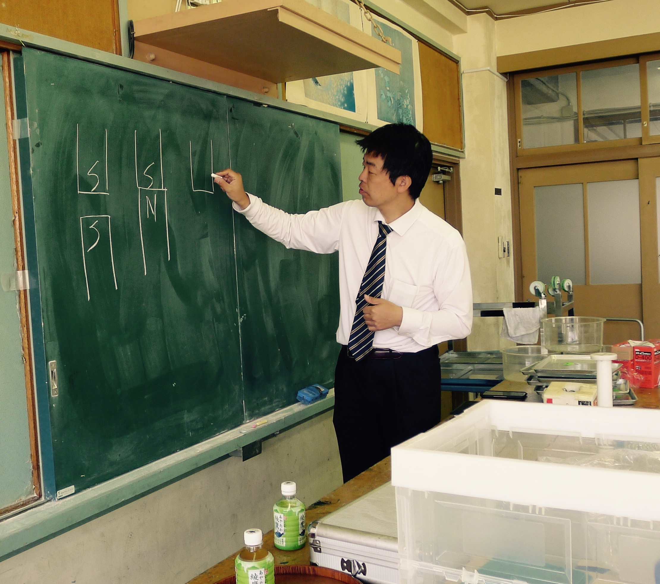 磁石体験教室