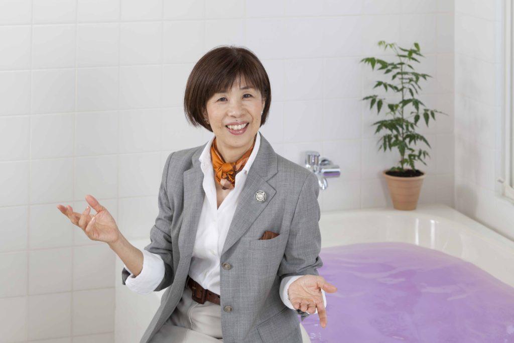 お風呂アドバイザー・温泉入浴指導員・株式会社ボーン・クラブ代表