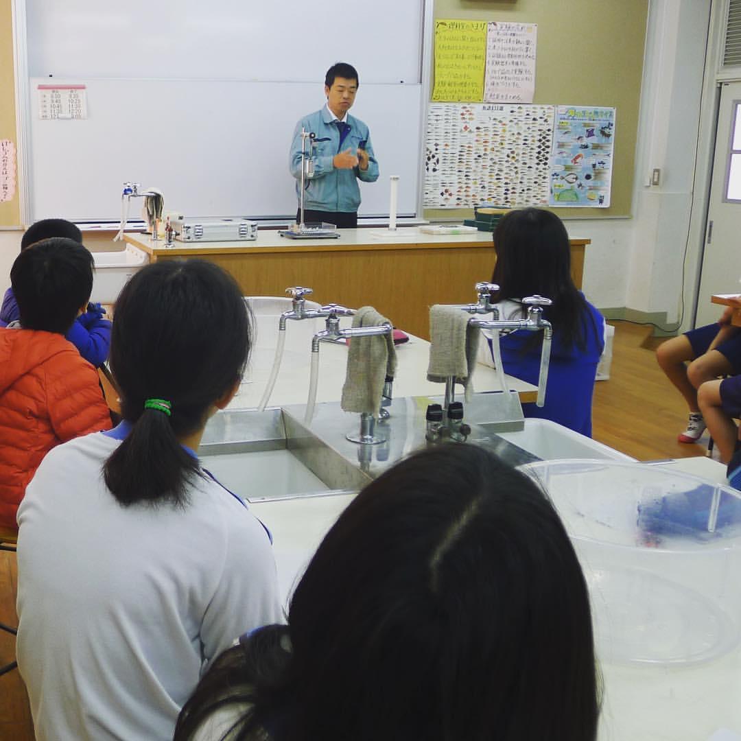 本日のモノづくり体験教室>磁石体験教室