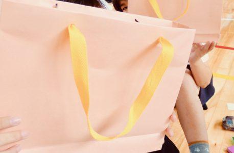 紙袋製作体験教室