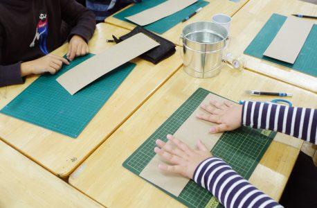 「紙は強い」体験教室